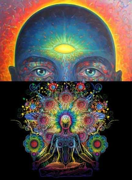دیدن نور در مدیتیشن