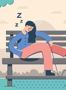 حمله خواب یا Narcolepsy