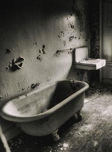 حمام تسخیر شده