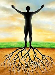 نحوه اتصال انرژیکی به زمین یا grounding برای ایجاد تعادل انرژی